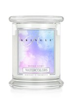 Kringle Candle Medium Classic Jar -2 Docht  - Watercolors