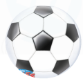 Qualatex Deco Bubble Ø 56 cm Fussball ohne