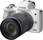 Canon Kamera EOS M50 Body & EF-M 18-150mm weiss