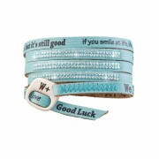 We Positive Armband Luxury - SWAROVSKI ACQUAMARINE