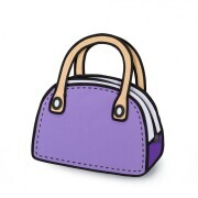 JumpFromPaper Carly Sweetie - purple