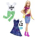 Barbie Fashionistas Puppe Peace & Love DTD98