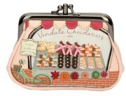 "Vendula London Clipper Coin Purse ""Chocolatiers"""