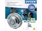 Intex Poollampe LED Ø 38 mm hydroelektrisch