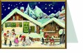SELLMER Carte de noël 17x12cm RS99119