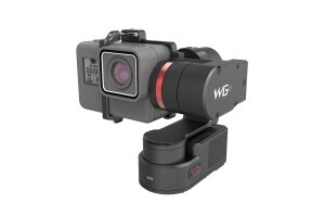 Feiyu Tech Wearable Gimbal 2, für GoPro HERO6, HERO5/Session, Hero 4/Session, Hero 3, inkl. Halterung für Hero Session, Wasserdicht bis 1m