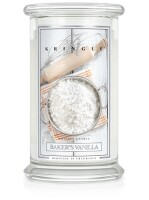 Kringle Candle Large Classic Jar -2 Docht - Bakers Vanilla