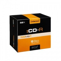 Intenso - 10 x CD-R - 700 MB (80
